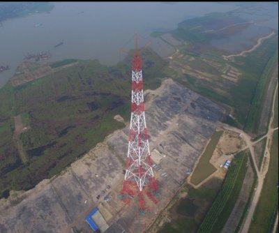 淮南-南京-上海特高压交流工程淮河大跨越安装工程