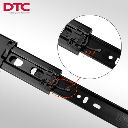 DTC反弹三节滑轨