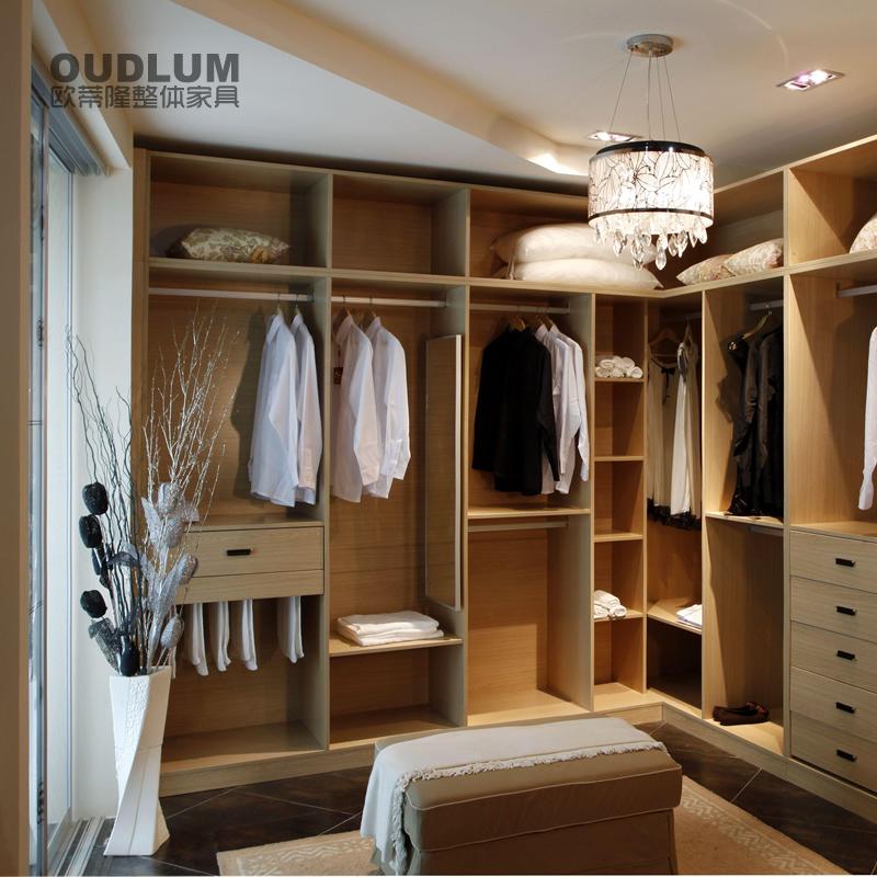 现代简约 步入式敞开式整体衣柜衣帽间 YMG1901