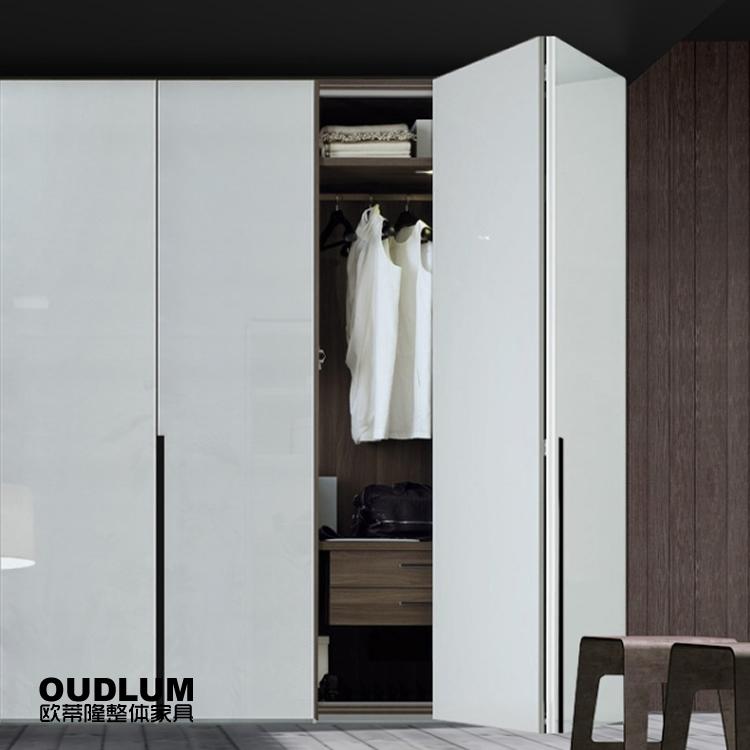 YG04B 折叠平移门衣柜 现代风格