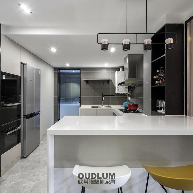 CG12007  整体厨房超哑肤感橱柜 欧蒂隆.OUDLUM 全屋定制