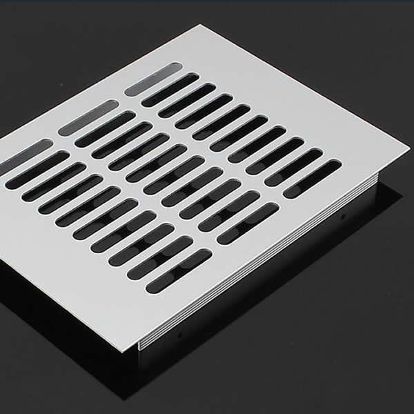 铝合金长方形透气网平面散气孔透气孔盖透气盖散热孔