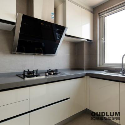 北欧现代风格整体橱柜 C202