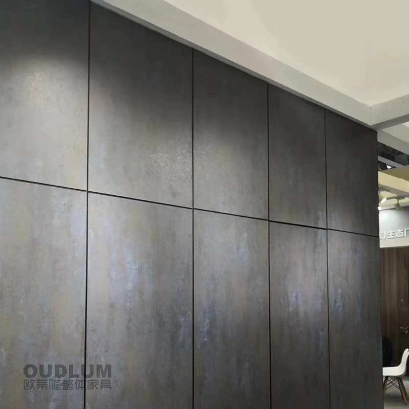 国产&进口双饰面 客厅平面背景墙护墙板 HQB01