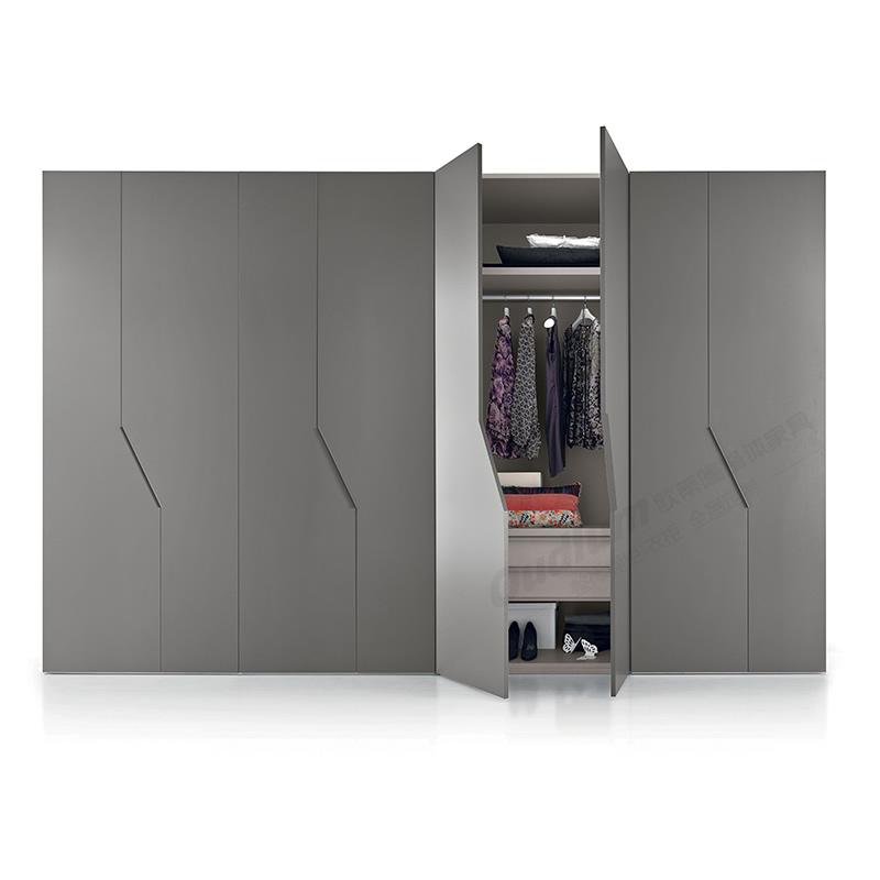 OUDLUM 全屋定制 现代轻奢创意开门衣柜YG05B