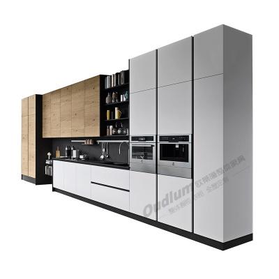 CG118 整体厨房橱柜(超哑肤感双饰面) 欧蒂隆.OUDLUM 全屋定制