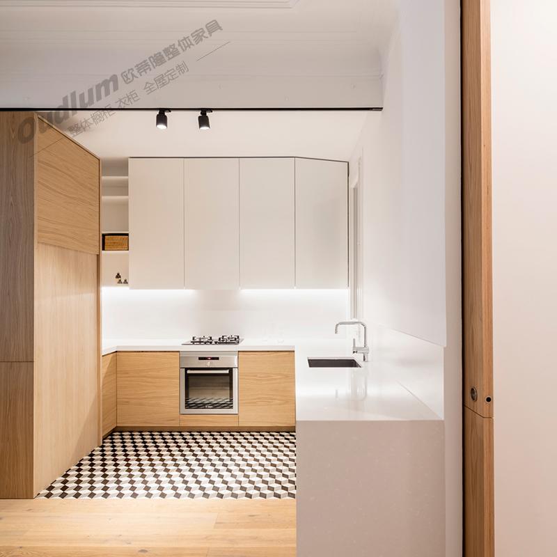 CG110 整体厨房橱柜 木饰面 欧蒂隆.OUDLUM 全屋定制