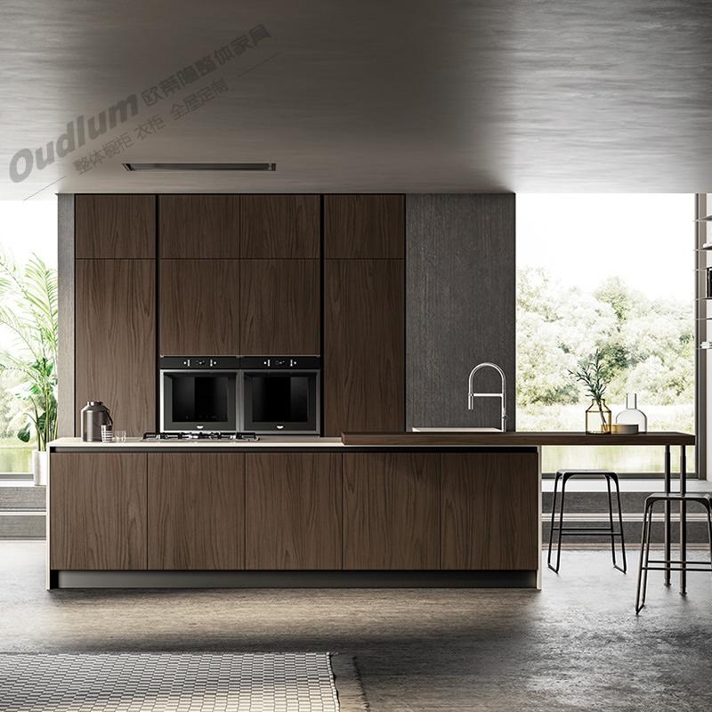 CG115整体厨房橱柜 木饰面 欧蒂隆.OUDLUM 全屋定制