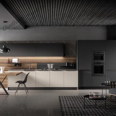 CG114整体厨房橱柜 纯色超哑 欧蒂隆.OUDLUM 全屋定制