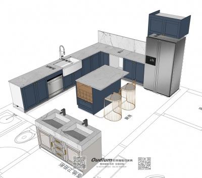 常州市溧阳区 Mr.车 别墅意式轻奢全屋家具柜定制 初步设计方案
