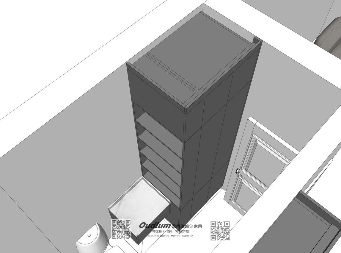 香港西貢區 全屋家私高端定制L00220 欧蒂隆.OUDLUM 全屋定制