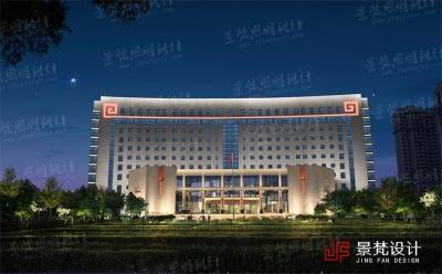 政府大楼亮化设计案例