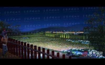 景观照明设计亮化设计夜景效果图