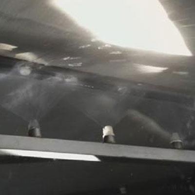 5万吨半浸式冲洗效果