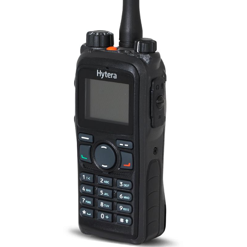 HYT好易通海能达对讲机PD780模拟数字多用途彩屏手台原装***