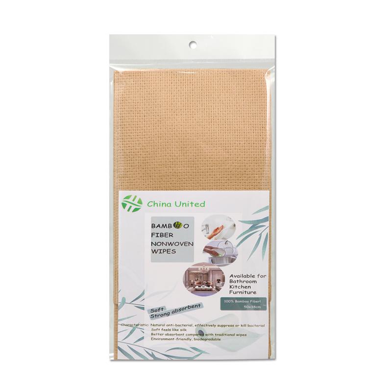 Bamboo fiber wipe