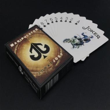 黑芯纸扑克牌魔术花切扑克