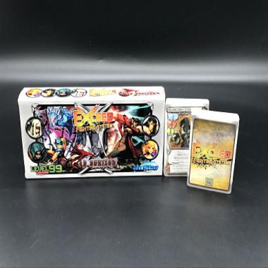 闪卡游戏卡牌,UV印刷制作工艺