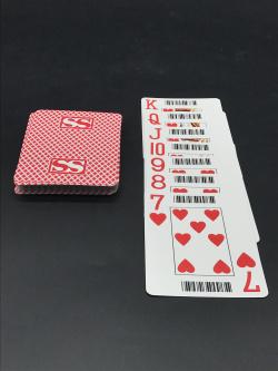 大字大尺寸条码扑克牌定做|广州扑克牌厂家印制
