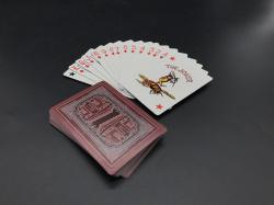 太阳门蓝心纸扑克牌|供应商广州扑克牌厂家生产