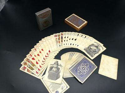 广州扑克牌工厂专业生产制作黑芯纸扑克厂家