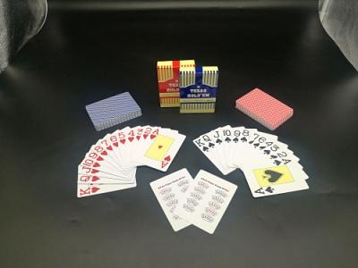 防水PVC扑克牌德州塑料扑克
