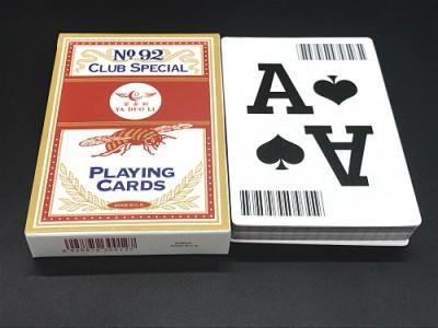 大尺寸条码扑克牌大牌扑克牌