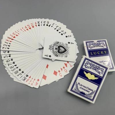 LUCKY幸运扑克牌,进口黑芯纸扑克牌印刷
