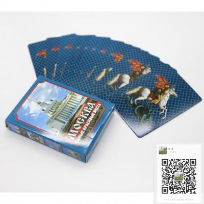 广告宣传类扑克牌定制,旅游景点宣传扑克牌定制,广告扑克定制工厂