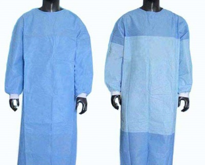 SURGICAL GOWN WITH REINFORCEMENT