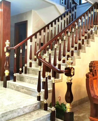 深圳楼梯,深圳金源楼梯,深圳扶梯,铜艺扶栏样式一