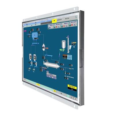 19寸正工業顯示器開放式