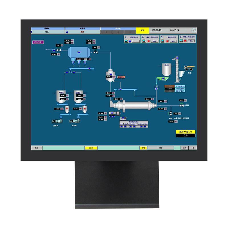 10.4寸工业显示器桌面式