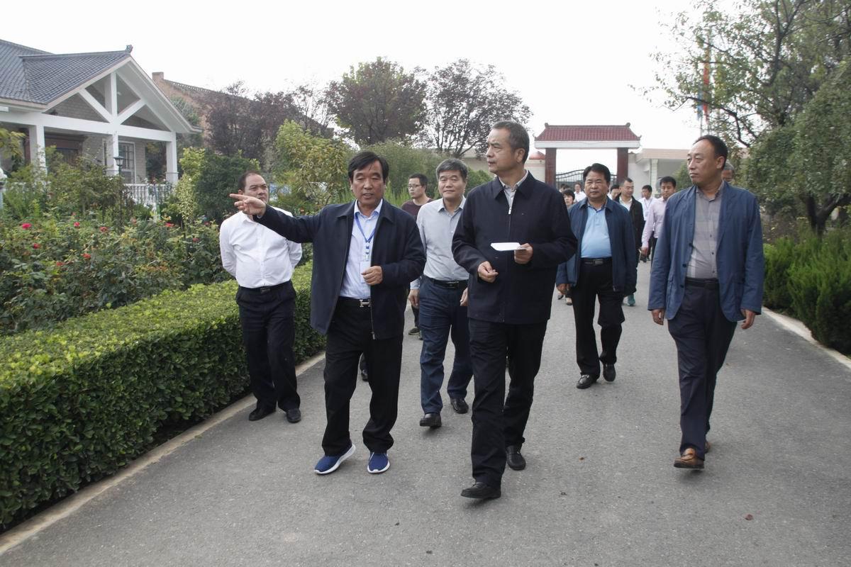杨广亭副市长一行莅临参观罗曼公...