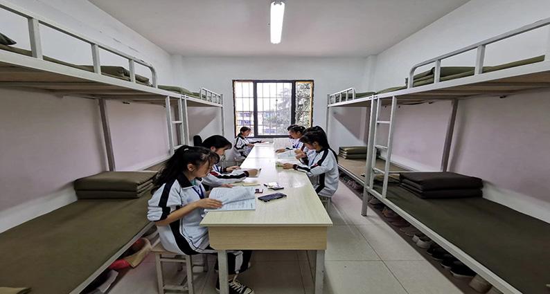 中国铝业贵州 高 级技工学校,宿舍管理,住宿环境
