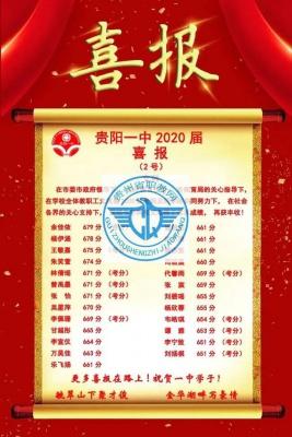 贵州省贵阳市最厉害的高中是哪所?2020年高考成绩说话!