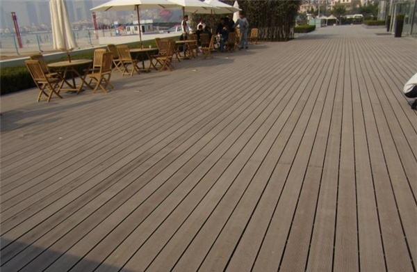 塑木地板安装后的验收方法