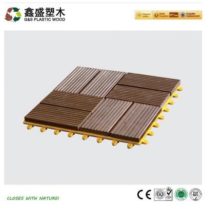 塑木拼装地板_GS-DIY-09H