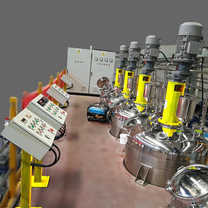 水性工业涂料成套设备