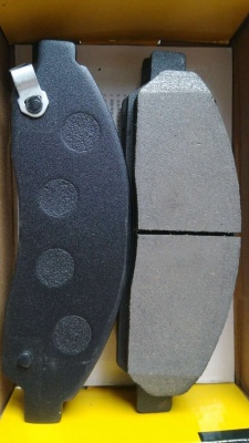 D1039 7943 ISUZU D-MAX CERAMIC FRONT DISC BRAKE PADS