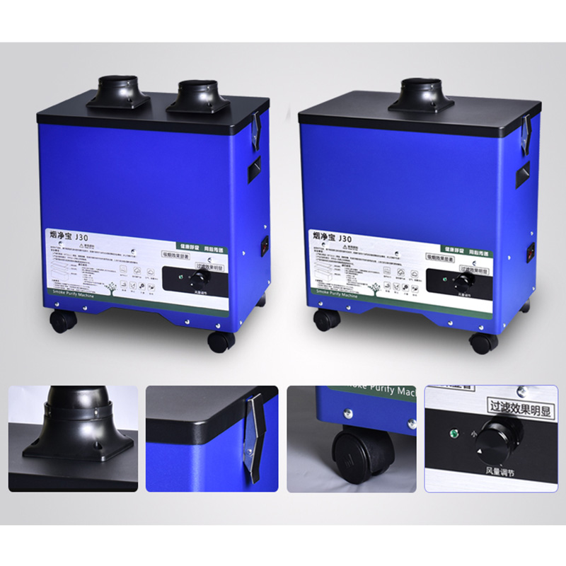 Yifil evacuator laser fume extractor Soldering deodorization smoke purifier Smoke Absorber
