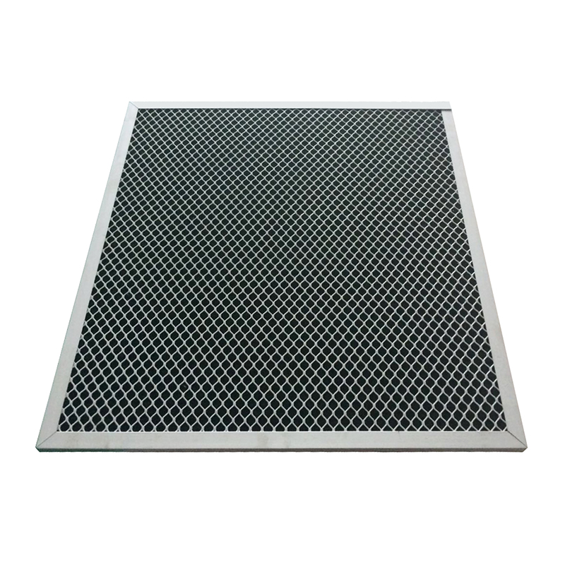 Odor Remove air filter Folding Pleated Panel typed Activated Carbon cotton filter
