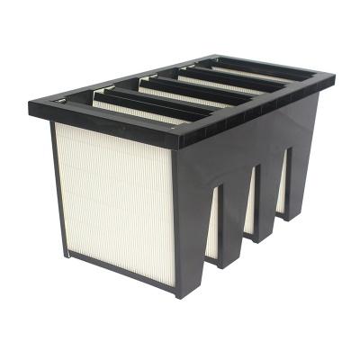 V-Bank medium efficiency and high efficiency Rigid bag filter yifil combined filter