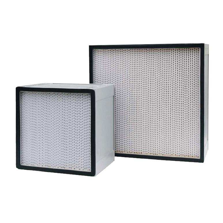 Wooden Frame, Aluminum, SS, Galvanized box paper aluminum foil Clapboard HEPA Filter