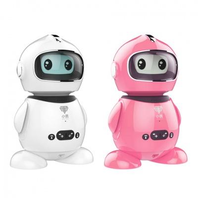 小勇智能儿童益智早教机器人 Y10A (白+粉)