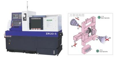 雙主軸數控走心機ZR20-5-NJJK