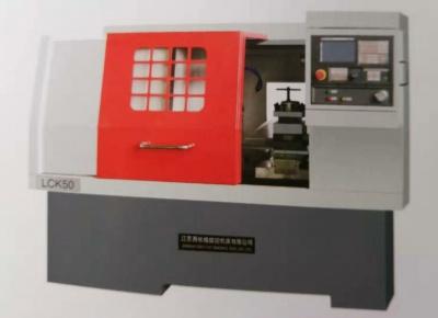 平床身線軌數控車床LCK500