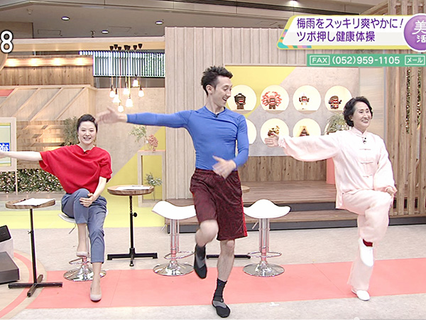 何云老师再次出演NHK电视节...