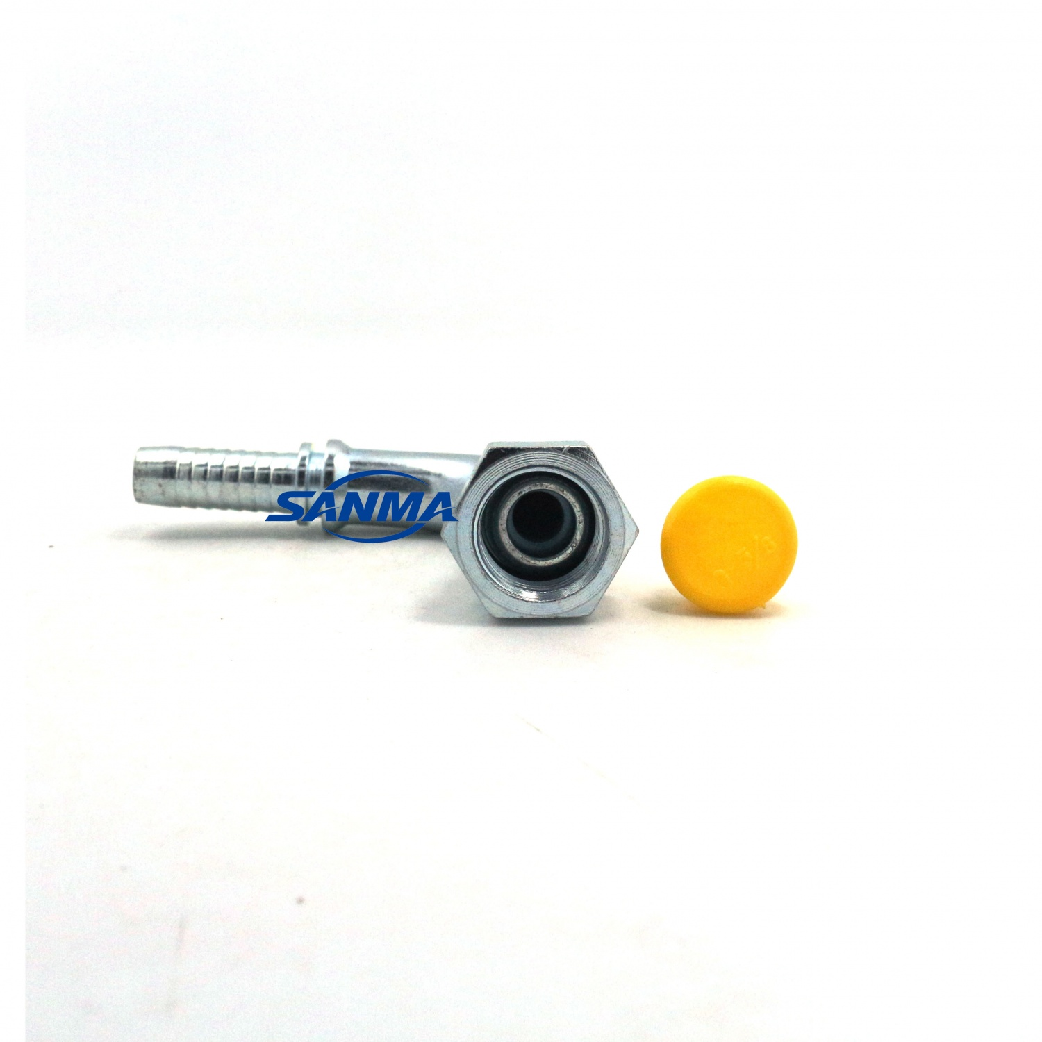 22691 DKR 90 degree bend hose fitting BSP female hold hydraulic fitting