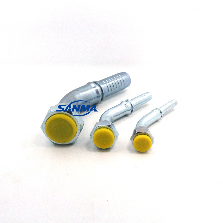22641 DKR 45 with internal thread R 60 degree hydraulic fitting new supplier